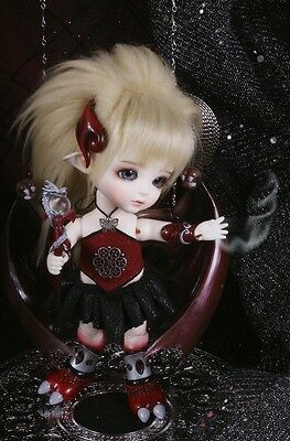 Lati Doll Yellow 16cm Limited Dragon ver. Aabie Full Set BJD Rare HTF Mint New