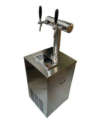 30inch 1-Tower Beer Kegerator, Keg Dispenser Cooler Fridge,304 Stainless Steel