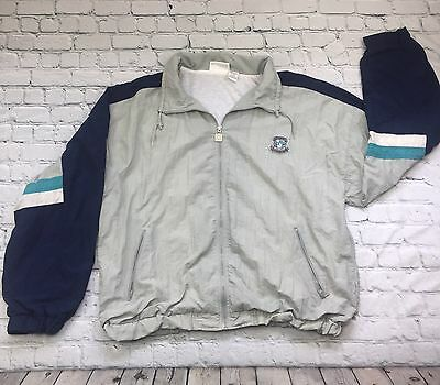 Givenchy Mens Jacket Vintage Colorblock Nylon Windbreaker ActiveSports 80 90s XL