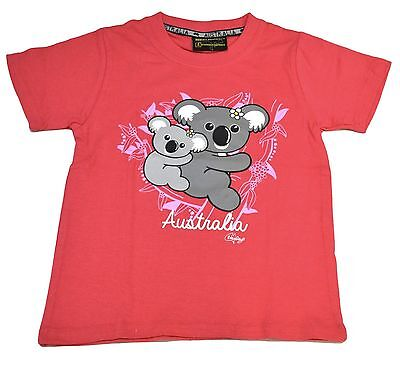 Children Unisex Australian T-Shirt Clothing Souvenir/Gift 100% Cotton Koala