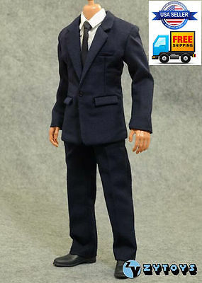 """PopToys 1//6 Classic Business Suit Set X27B For 12/"""" Hot Toys Male Figure ❶USA❶"""