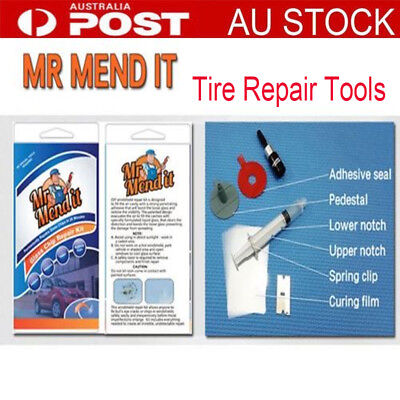 DIY car window repair tools windscreen scratch repair kit windscreen crack