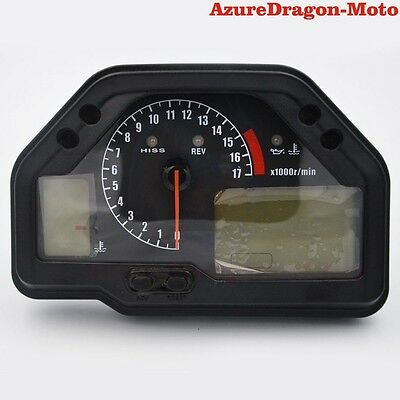 Speedometer Gauges Cluster Tachometer For Honda CBR600RR 2003 2004 2005 2006 AU