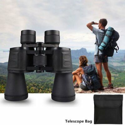 High Times 20X50 Zoom Outdoor Night Vision Infrared Telescope For Travel +Bag MX