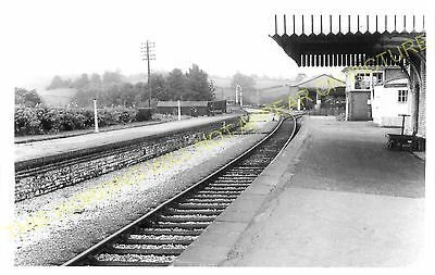 Pensford Railway Station Photo. Brislington - Clutton. Bristol to Radstock. (2)