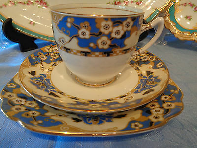 Royal Albert Crown China Trios - **Hawthorne** Pattern Made For Lawleys