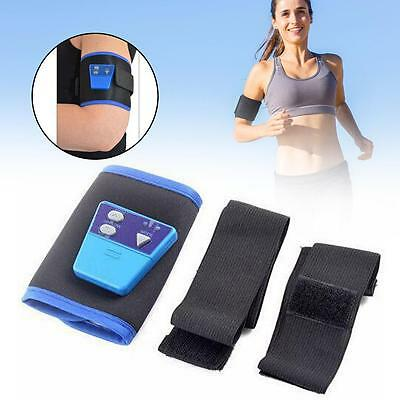 AB Gymnic Electronic Muscle Arm leg Waist Abdominal Massage Toning Belt Slim GJ