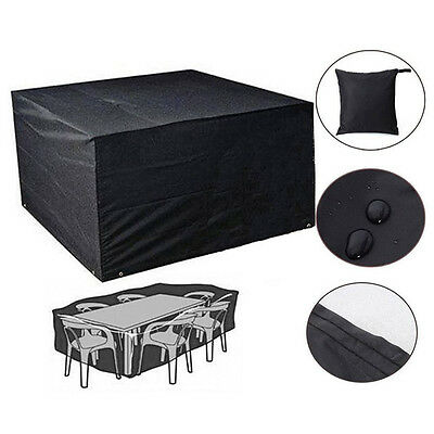 23 Sizes Large Waterproof Patio Furniture Covers for Outdoor Garden Rattan Table