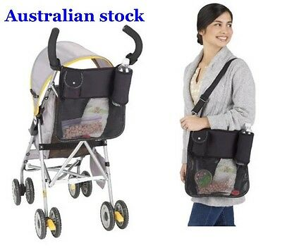 Baby Pram Stroller Organiser Caddy Bag