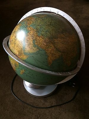Columbus Globe, with light, adjustable by day, German version