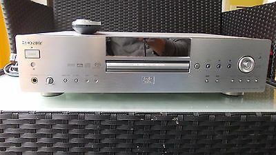 Sony Qs-Es Sacd, Dvd,cd,vcd Player.top Quality,superior Sound And Picture 24Bit