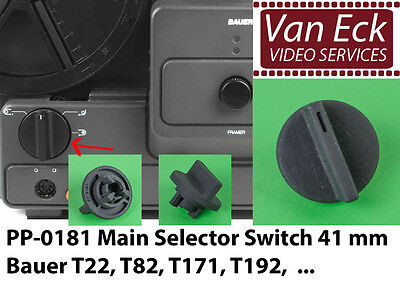 Bauer T22, T82, T171, T192, ... - Main Selector Switch 41 mm (PP-0181) (new)