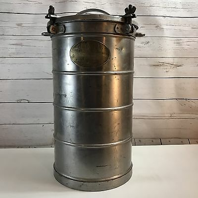 WWII Era Aervoid Food Carrier Insulated Hot Cold US Navy USN Vacuumn