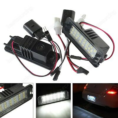 2x LED Licence Number Plate Light Porsche Cayenne 958 Carrera 987 Boxster Cayman