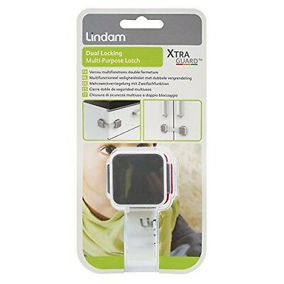 Lindam 051024 Xtra Guard Latch with Dual Function 1 Pack NEW