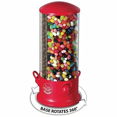 Triple Candy Gumballs Peanuts Dispenser with 3 Separate Snacks Compartments Fun