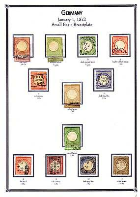 Powerful Mint & Used Germany Stamps Collection In 177 album pages