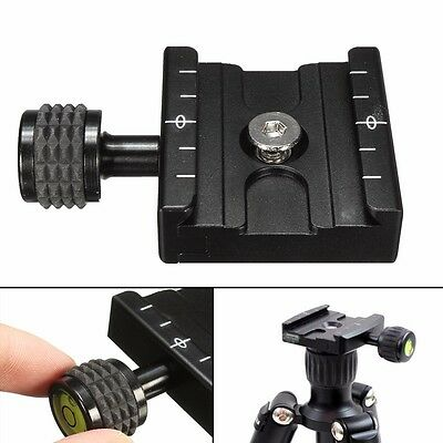 50mm Quick Release Plate for Manfrotto Arca-Swiss Tripod Ballhead, In Matt Black
