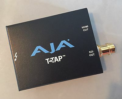 AJA T-TAP Thunderbolt Powered SDI and HDMI Output, video display device