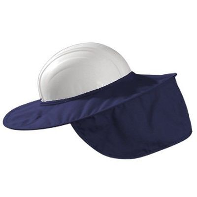 Occunomix MiraCool Stow-Away Hard Hat Sun Shade Protects Neck Face  #899 NAVY