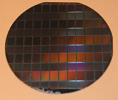 "Silicon Wafer 4""  TI with CCD Devices"