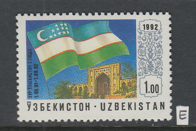 XG-X721 UZBEKISTAN - Flags, 1992 Architecture MNH Set
