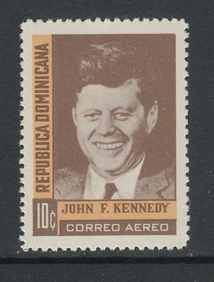 XG-AA282 DOMINICAN REP. - Kennedy, 1964 In Memory, Airmail MNH Set