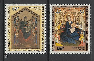XG-AA952 CAMEROON IND - Paintings, 1972 Cimabue, Lochner, Airmail MNH Set