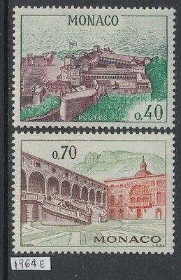 XG-AG476 MONACO - Architecture, 1964 Castles, 2 Values MNH Set