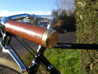 Pashley Guv'nor Brass Handle Bar End Plugs