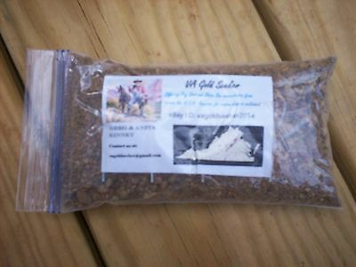 Gold Pay Dirt - Virginia - 8 ounce Sample Packet