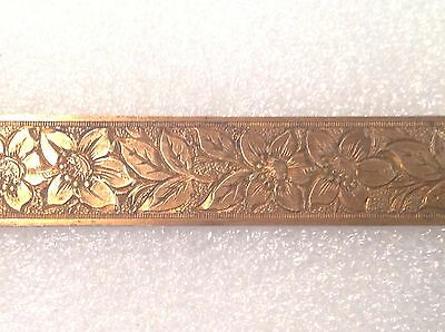"Vintage Solid 5/8"" Brass Lamp Trim Jewelry Furniture Hardware Embellishment 8"