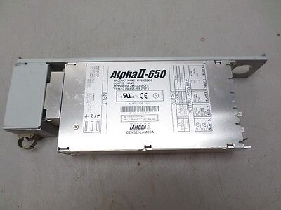 Alpha II-650 MV6500249B DC Power Supply Multi Output 5,6,12,3.5 VDC See Details