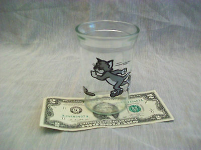 TOM and JERRY / WELCH'S COLLECTOR GLASS - 1990