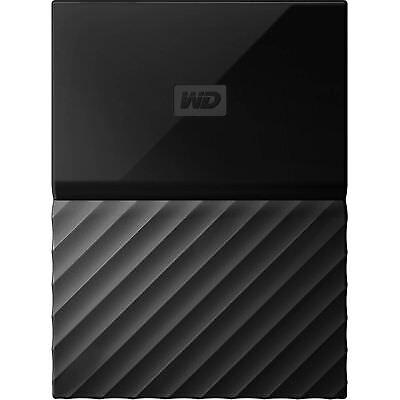 "Western Digital My Passport 1TB WD 2.5"" Portable External Hard Drive HDD Black"