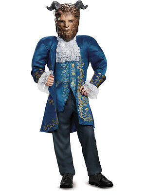 Child's Boys Deluxe Beauty And The Beast Prince Costume