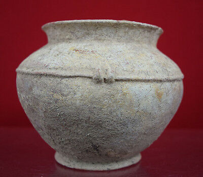 Antique over 2000 years old Roman Pottery Terracotta Jar Pot