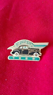 Hot August Nights 1996 Metal Enamel Hat Pin Old Chevy Coupe Hot Rod