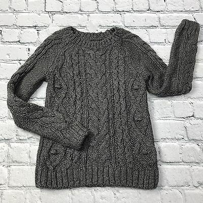Baby Gap Girls Sweater Cable Knit Warm Pullover Long Sleeve Tunic Top Size 4
