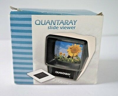 Quantaray 35mm Slide Viewer with Box and Instructions