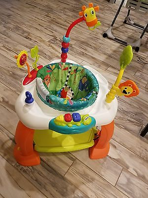 Baby exerciser bouncer jumper exersaucer bright stars safari/jungle theme.