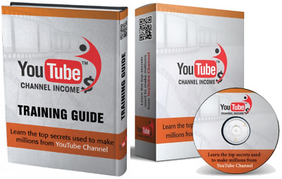 YouTube Channel Income W/ Master Resell Rights +10 Bonus eBooks W/ PLR MRR (PDF)