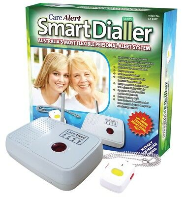 NEW Care Alert Smart Dialler Fall Alert Alarm - NBN Compatible & Mobile SIM Card