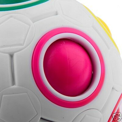 Popular!69mm Puzzle Ball Colorful Magic Ball Kids Intelligence Educational Toy