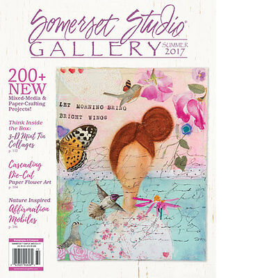 Somerset Studio Gallery  by Stampington Summer 2017