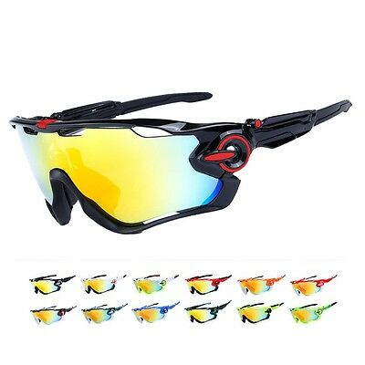 Polarized Cycling 5 Lens Men's Mountain Bike Goggles Sport Bicycle SunGlasses