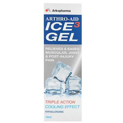 Arthro-Aid Ice Gel 100ML Relieves & eases Muscular, Joint & Post-Injury Pain