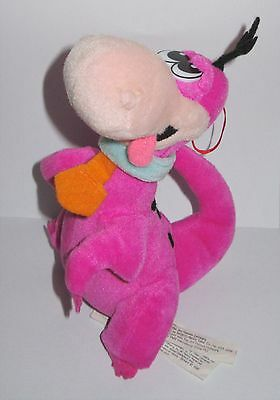 "Official The Flintsones Dino The Dinosaur Hanna-Barbera Plush 8"" Soft Toy"