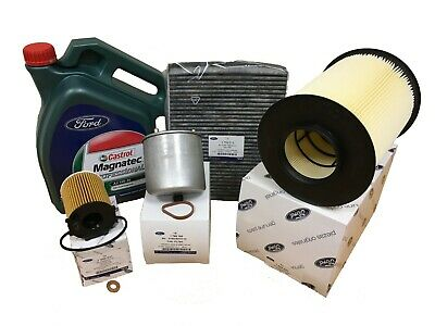 GENUINE FORD Focus 1.6 TDCi Service Kit inc Genuine Oil Mk3 Mk4 2011 Onwards