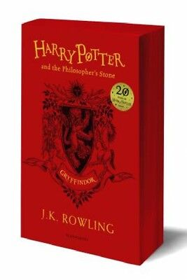 Harry Potter And The Philosopher's Stone – Gryffindor Paperback Edition by ...